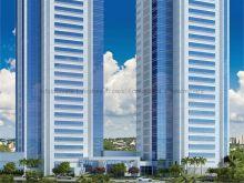 The Place - salas integradas vista Shopping 107 m²