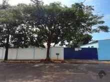 Área em frente ao Parque de Exposição