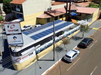 Grupo InfoShop passa a ser autossuficiente em energia elétrica