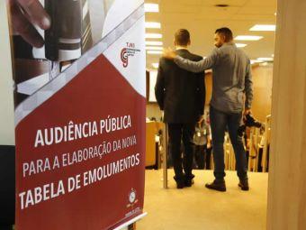 CRECI-MS defende revisão das taxas cartorárias durante audiência pública